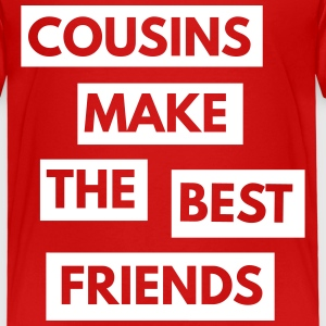 Cousins make the best friends Shirts - Kids' Premium T-Shirt