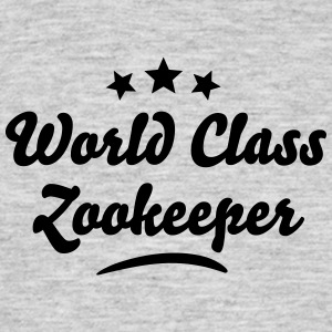 world class zookeeper stars - Men's T-Shirt
