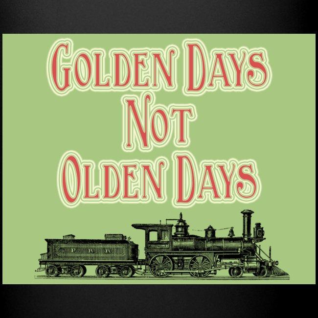 Golden Days Full Colour Mug