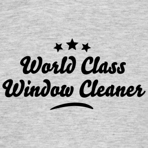 world class window cleaner stars - Men's T-Shirt