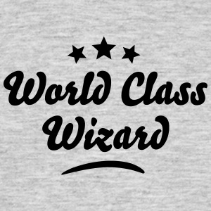world class wizard stars - Men's T-Shirt