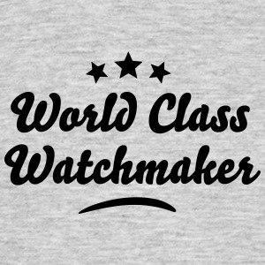 world class watchmaker stars - Men's T-Shirt