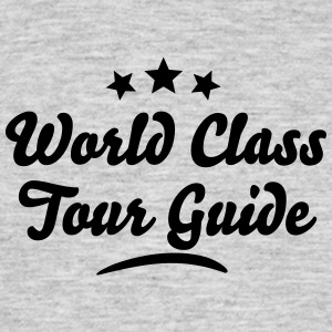 world class tour guide stars - Men's T-Shirt