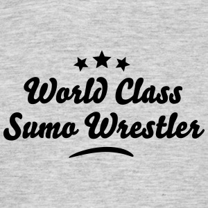 world class sumo wrestler stars - Men's T-Shirt
