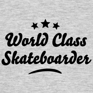 world class skateboarder stars - Men's T-Shirt