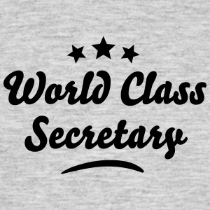 world class secretary stars - Men's T-Shirt