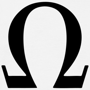 Greek Symbol Omega T-Shirts - Men's T-Shirt