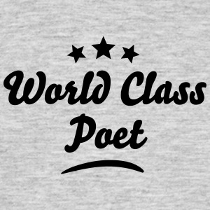 world class poet stars - Men's T-Shirt