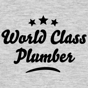 world class plumber stars - Men's T-Shirt