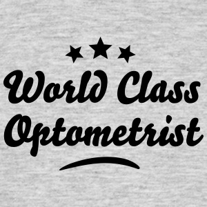 world class optometrist stars - Men's T-Shirt