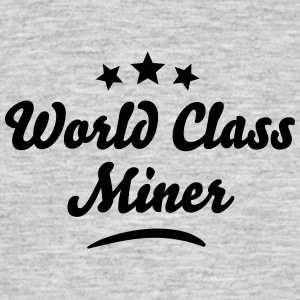 world class miner stars - Men's T-Shirt