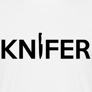 KNIFER Logo T-Shirts - Men's T-Shirt