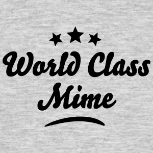 world class mime stars - Men's T-Shirt