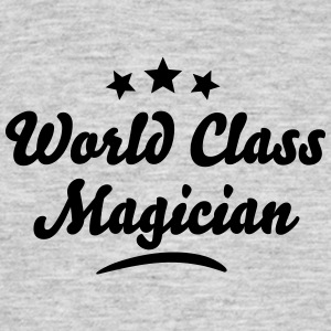 world class magician stars - Men's T-Shirt