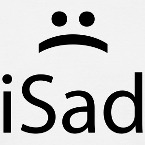iSad :( T-Shirts - Men's T-Shirt
