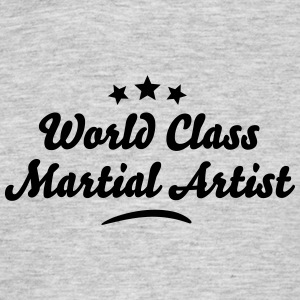 world class martial artist stars - Men's T-Shirt