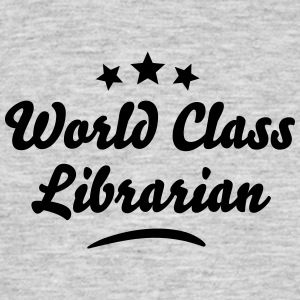 world class librarian stars - Men's T-Shirt