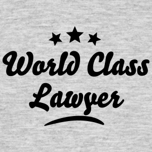 world class lawyer stars - Men's T-Shirt