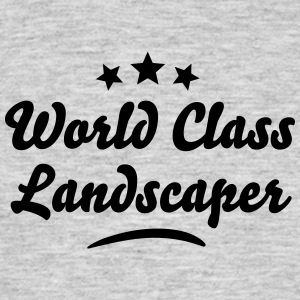 world class landscaper stars - Men's T-Shirt