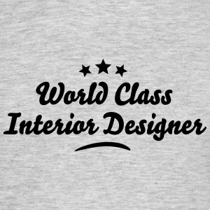 world class interior designer stars - Men's T-Shirt