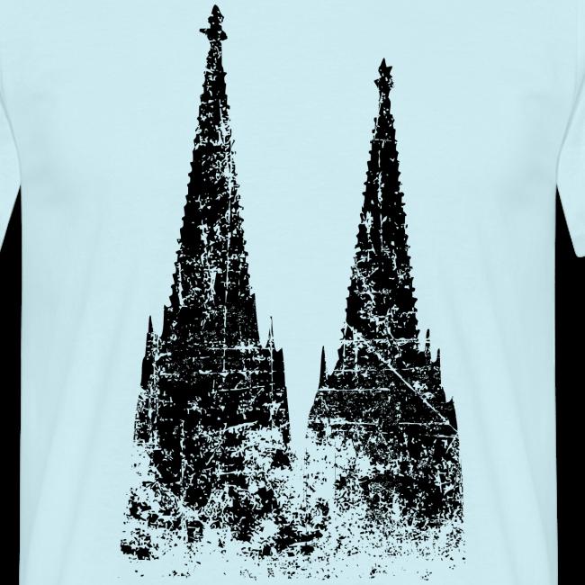 Kölner Dom (Vintage) Köln T-Shirt