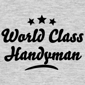 world class handyman stars - Men's T-Shirt