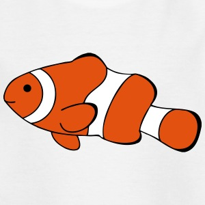 Clown Fish Drawing Shirts - Kids' T-Shirt