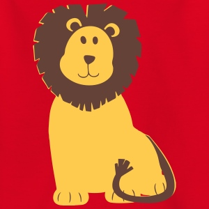 Cartoon Lion Drawing Shirts - Kids' T-Shirt