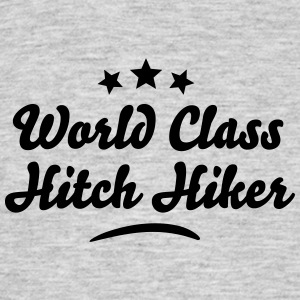 world class hitch hiker stars - Men's T-Shirt