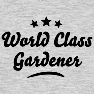 world class gardener stars - Men's T-Shirt
