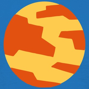 Planet Mars (Cartoon Icon) T-Shirts - Men's T-Shirt