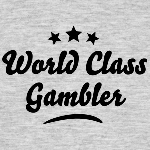 world class gambler stars - Men's T-Shirt