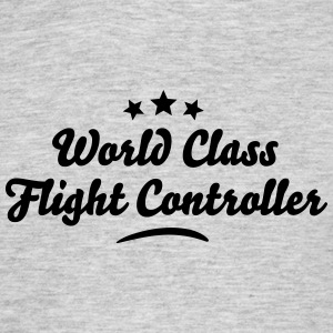 world class flight controller stars - Men's T-Shirt