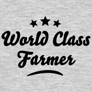 world class farmer stars - Men's T-Shirt