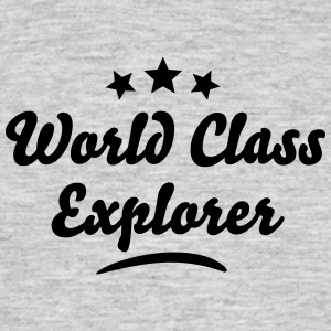 world class explorer stars - Men's T-Shirt