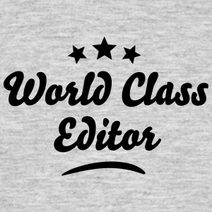 world class editor stars - Men's T-Shirt