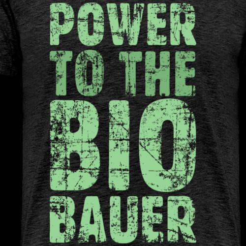 Power to the Biobauer Bio Grün Hell