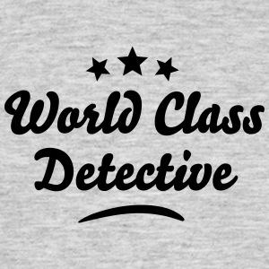 world class detective stars - Men's T-Shirt