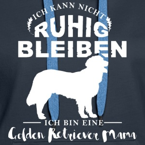 Golden Retriever Mama  Pullover & Hoodies - Frauen Premium Hoodie