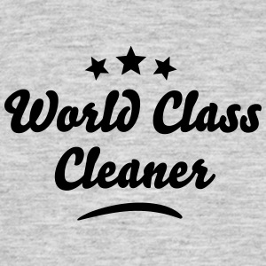 world class cleaner stars - Men's T-Shirt
