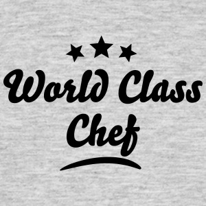 world class chef stars - Men's T-Shirt