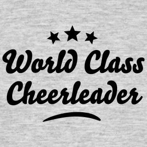world class cheerleader stars - Men's T-Shirt