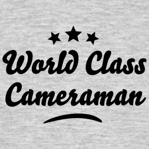 world class cameraman stars - Men's T-Shirt