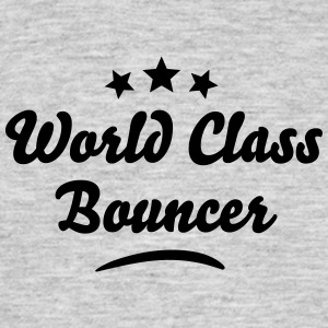 world class bouncer stars - Men's T-Shirt