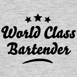 world class bartender stars - Men's T-Shirt