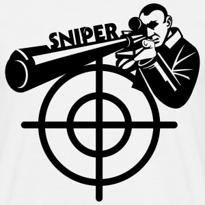 Sniper Art T-Shirts - Men's T-Shirt
