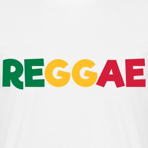 REGGAE Flag T-Shirts - Men's T-Shirt
