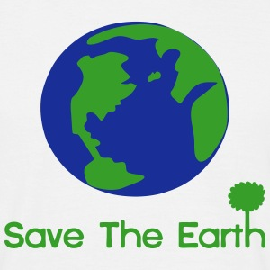 Save The Earth Quote T-Shirts - Men's T-Shirt