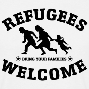 Refugees Seeking  T-Shirts - Men's T-Shirt