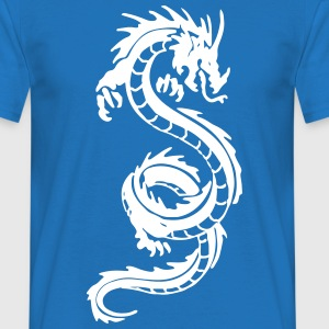Long Dragon Drawing T-Shirts - Men's T-Shirt